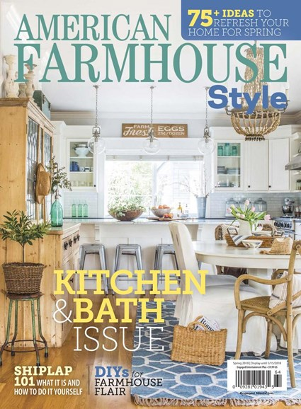American Farmhouse Style Cover - 3/1/2018