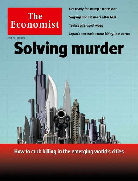The Economist Cover - 4/7/2018