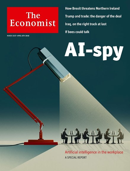 The Economist Cover - 3/31/2018