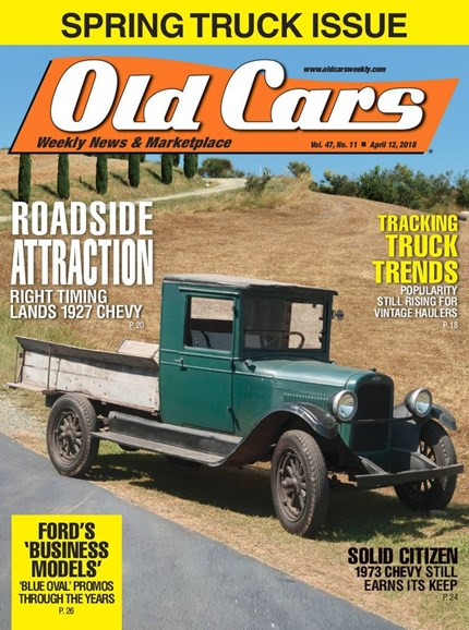 Old Cars Cover - 4/12/2018