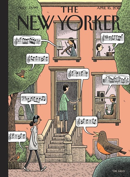 The New Yorker Cover - 4/16/2018