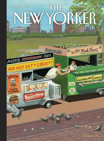 The New Yorker Cover - 4/9/2018