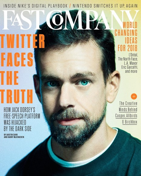 Fast Company Cover - 5/1/2018