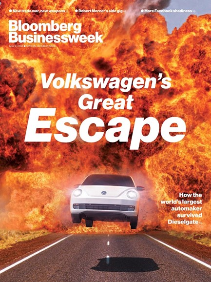 Bloomberg Businessweek Cover - 4/2/2018