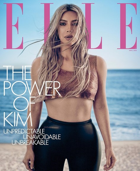 ELLE Cover - 4/1/2018
