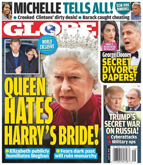 Globe Cover - 4/16/2018