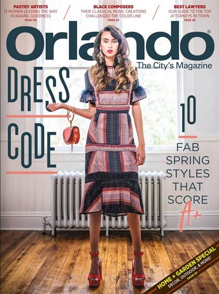 Orlando Magazine Cover - 4/1/2018