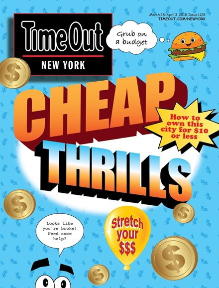 Time Out New York Cover - 3/28/2018