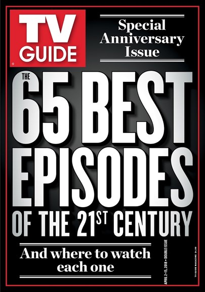 TV Guide Cover - 4/2/2018