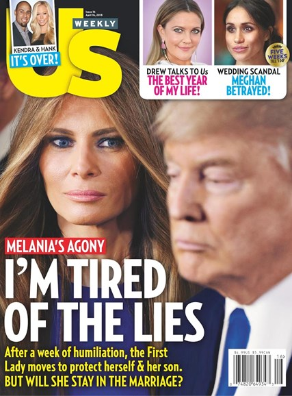 Us Weekly Cover - 4/16/2018