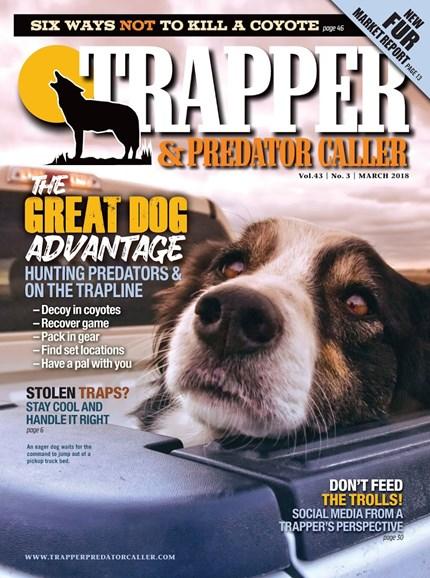 Trapper & Predator Caller Cover - 3/1/2018