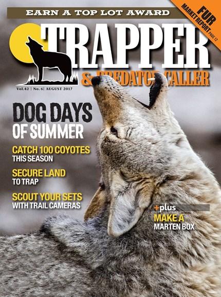 Trapper & Predator Caller Cover - 8/1/2017