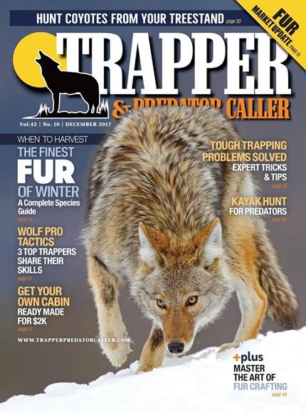 Trapper & Predator Caller Cover - 12/1/2017
