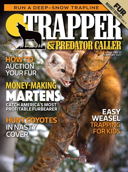 Trapper & Predator Caller Cover - 2/1/2017