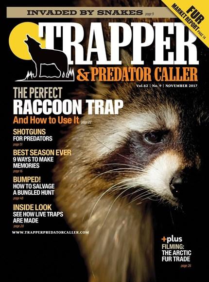 Trapper & Predator Caller Cover - 11/1/2017