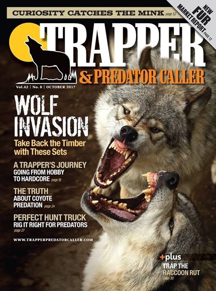 Trapper & Predator Caller Cover - 10/1/2017