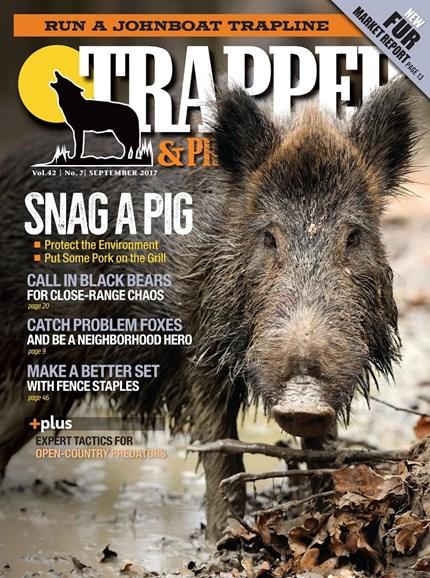 Trapper & Predator Caller Cover - 9/1/2017