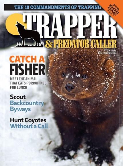 Trapper & Predator Caller Cover - 12/1/2016