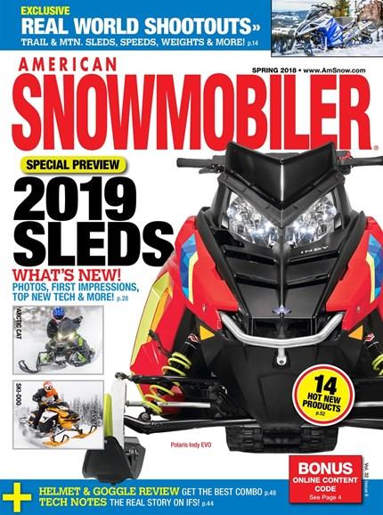 American Snowmobiler Cover - 3/1/2018