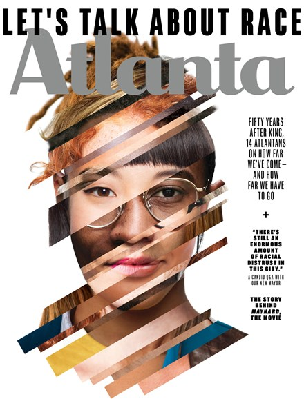 Atlanta Magazine Cover - 4/1/2018