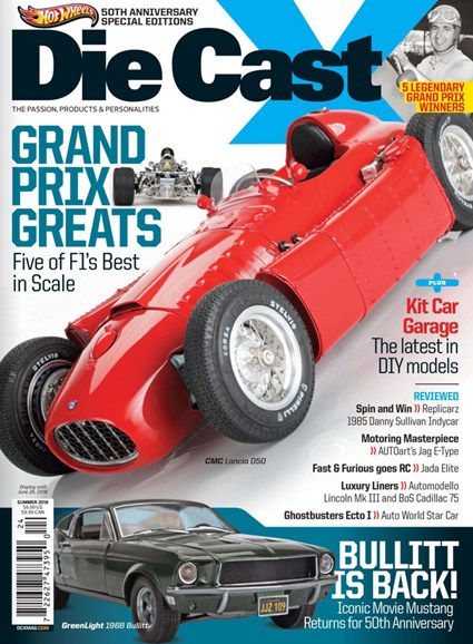 Diecast X Cover - 6/1/2018