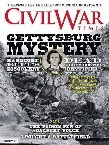 Civil War Times Cover - 6/1/2018