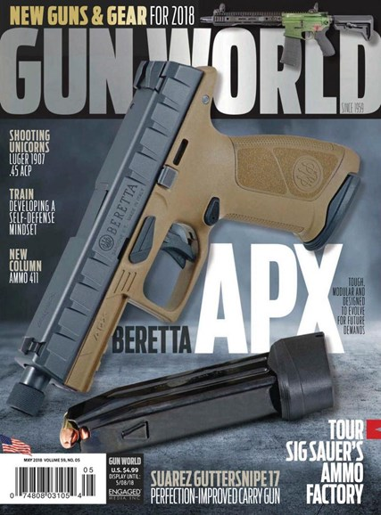 Gun World Cover - 5/1/2018