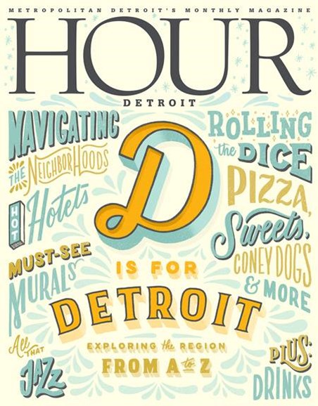 Hour Detroit Cover - 4/1/2018