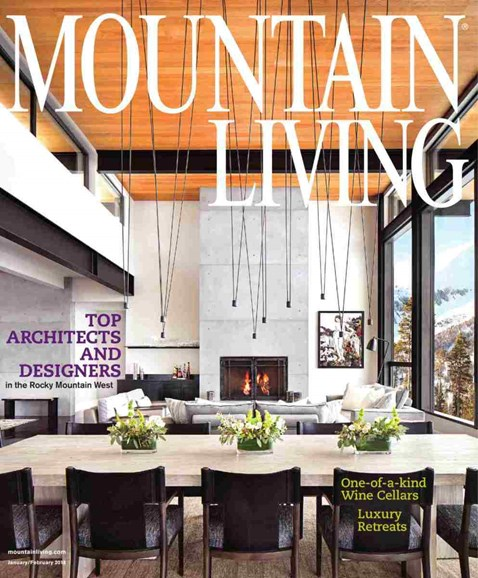 Mountain Living Cover - 1/1/2018