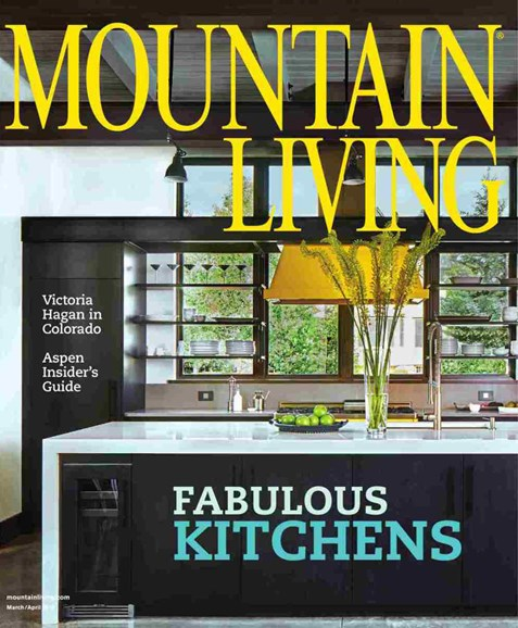 Mountain Living Cover - 3/1/2018