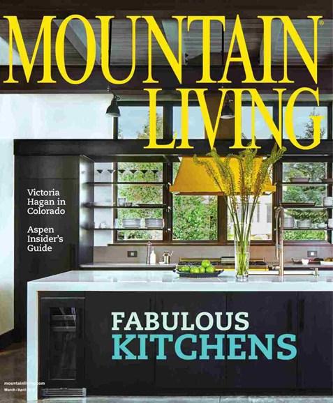Mountain Living Cover - 3/1/2018