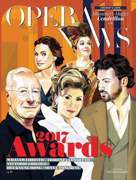 Opera News Cover - 4/1/2018