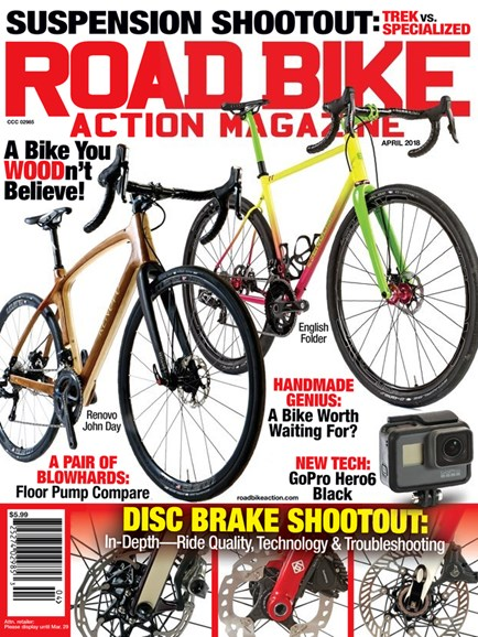 Road Bike Action Cover - 4/1/2018