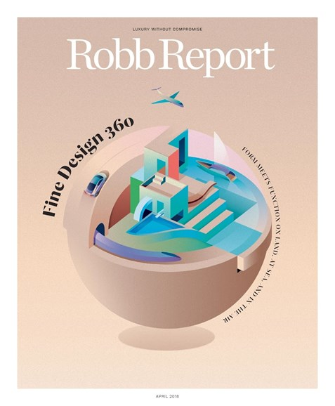 Robb Report Cover - 4/1/2018