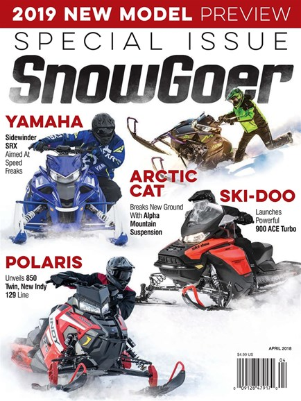 Snow Goer Cover - 4/1/2018