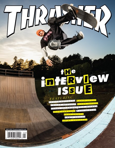 Thrasher Cover - 5/1/2018