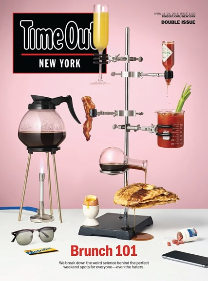 Time Out New York Cover - 4/11/2018