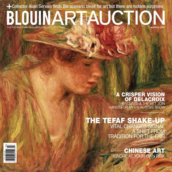 Blouin Art & Auction Cover - 3/1/2018