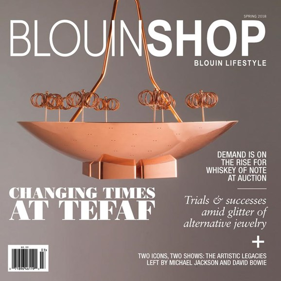 Blouin Lifestyle Cover - 3/1/2018