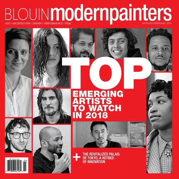 Blouin Modern Painters Cover - 1/1/2018