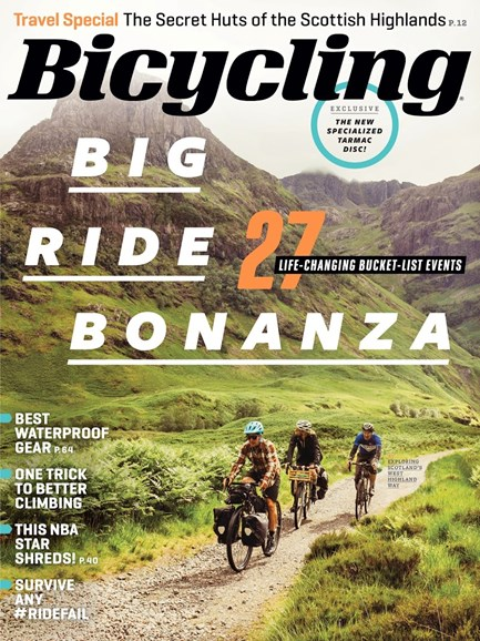 Bicycling Cover - 5/1/2018