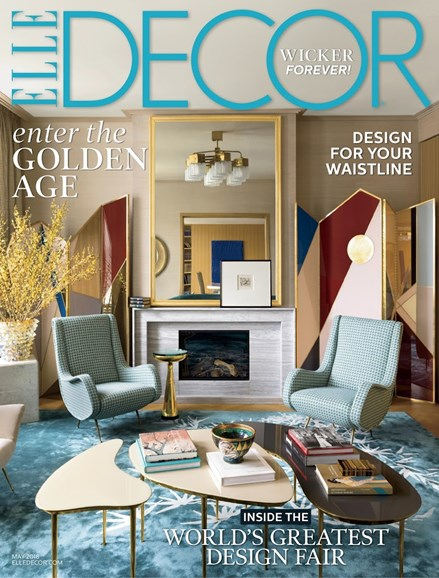ELLE DECOR Cover - 5/1/2018