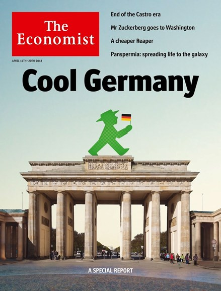 The Economist Cover - 4/14/2018