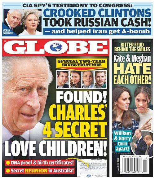 Globe Cover - 4/23/2018