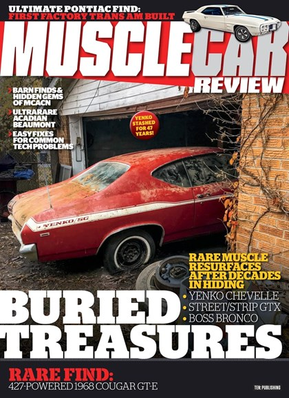 Muscle Car Review Cover - 5/1/2018