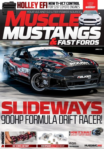 Muscle Mustangs & Fast Fords Cover - 6/1/2018