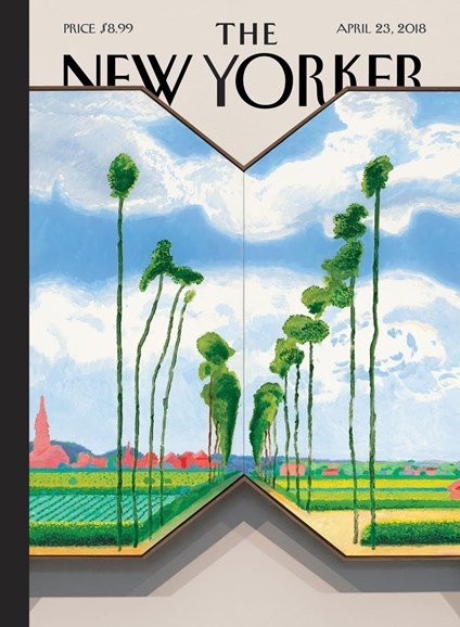 The New Yorker Cover - 4/23/2018
