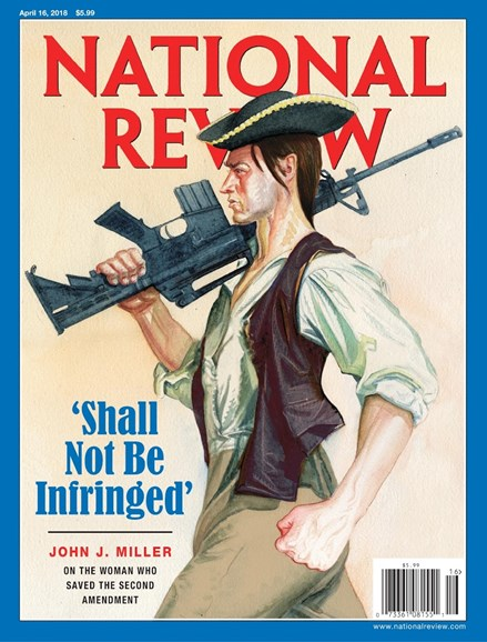 National Review Cover - 4/16/2018