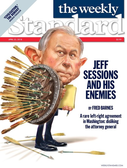 Washington Examiner Cover - 4/23/2018