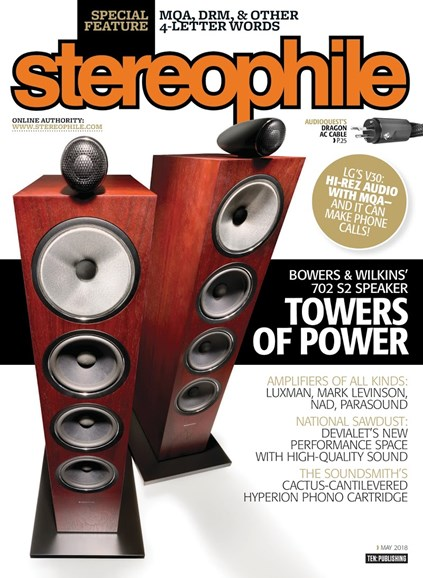 Stereophile Cover - 5/1/2018